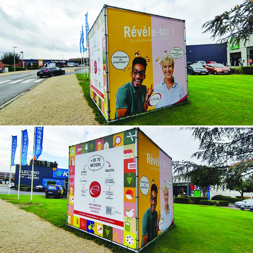 Hello Design Campagne publicitaire IFAPME Charleroi