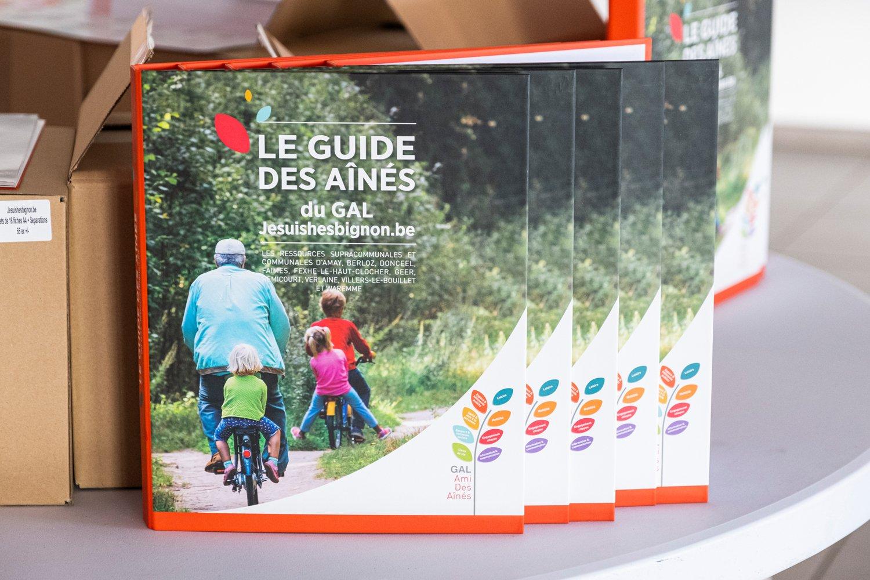 Guide des Ainés pour le Gal Jesuishesbignon.be par Hello Design